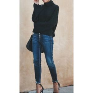 Anthropologie High Rise Skinny Jeans